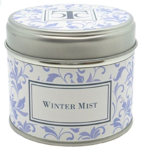 Winter Mist Scented Candle Tin 35 hour